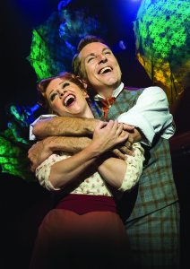 BARNUM - Brian Conley as 'PT Barnum' and Linzi Hateley as 'Chairy'. Photo by Johan Persson